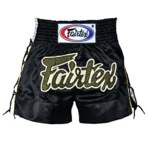 Fairtex black laced shorts