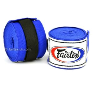 Fairtex Blue 4.5m Stretch Hand Wraps