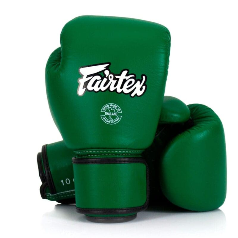 Fairtex Forest Green Muay Thai Gloves