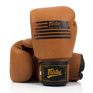 Fairtex Legacy Brown Muay Thai Gloves