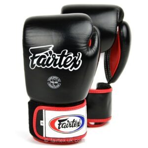 Fairtex 3-Tone Black Boxing Gloves