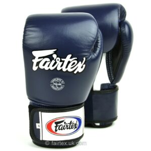 Fairtex 3-Tone Blue Boxing Gloves