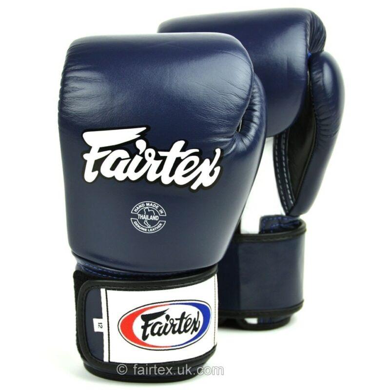Fairtex 3-Tone Blue Boxing Gloves