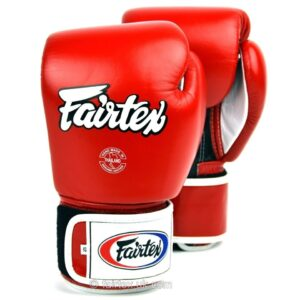 Fairtex 3-Tone Red Boxing Gloves