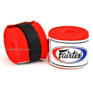 Fairtex Red 4.5m Stretch Hand Wraps