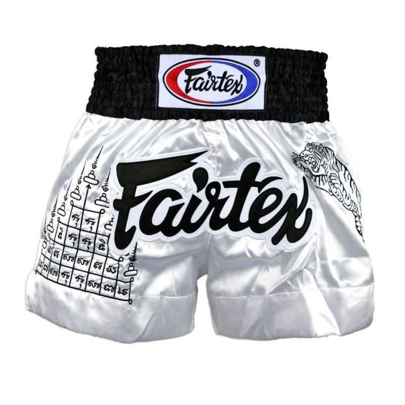 Fairtex Superstition white shorts