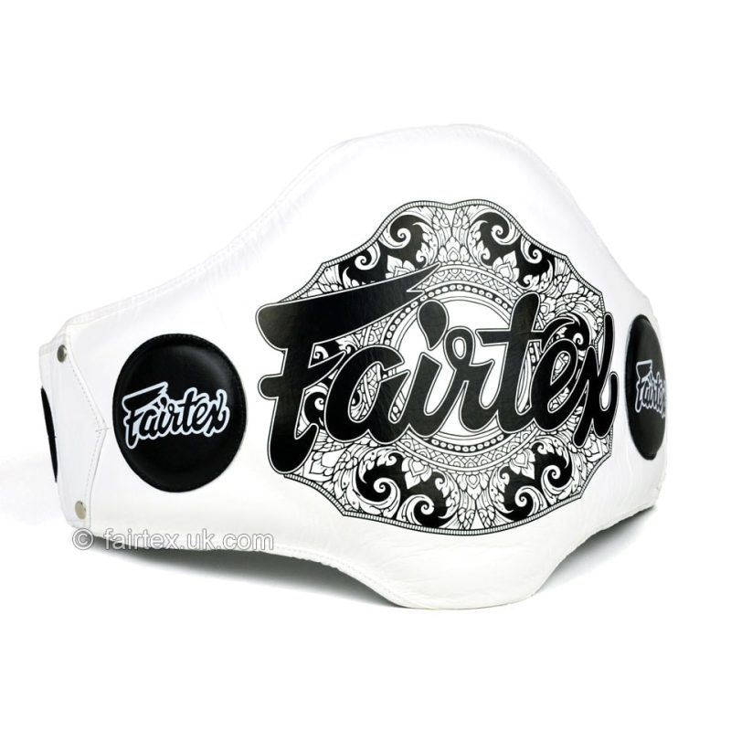 Fairtex White Lightweight Belly Pad