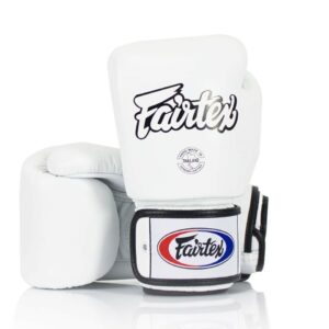 Fairtex White Muay Thai Gloves