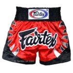 Fairtex red shorts