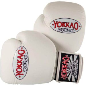YOKKAO Matrix White Boxing Gloves