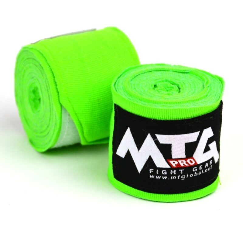 MTG Pro Lime Green Elasticated Hand Wraps