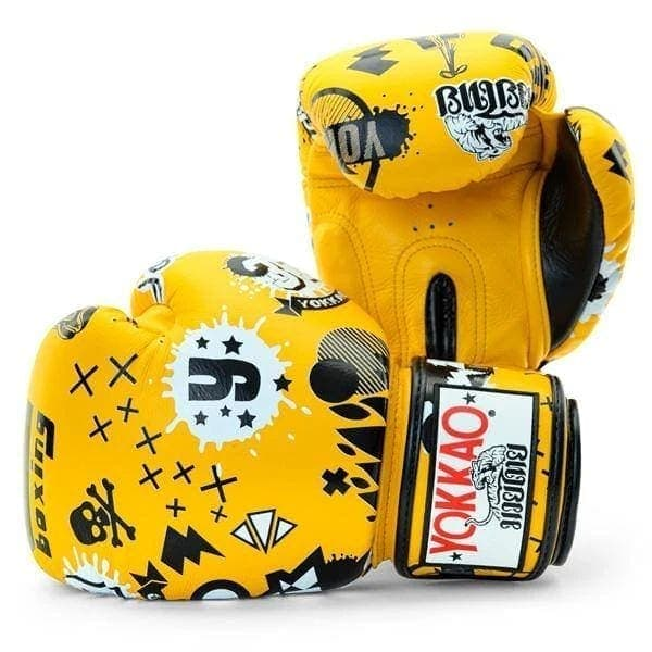 YOKKAO Rock 'n' Rolla Gold Fusion Boxing Gloves