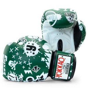 YOKKAO Rock 'n' Rolla Eden Green Boxing Gloves