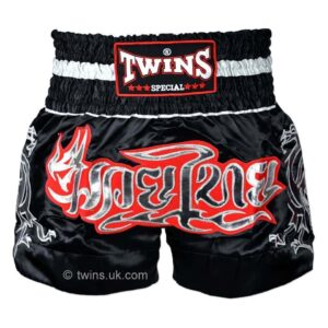 Twins black silver shorts