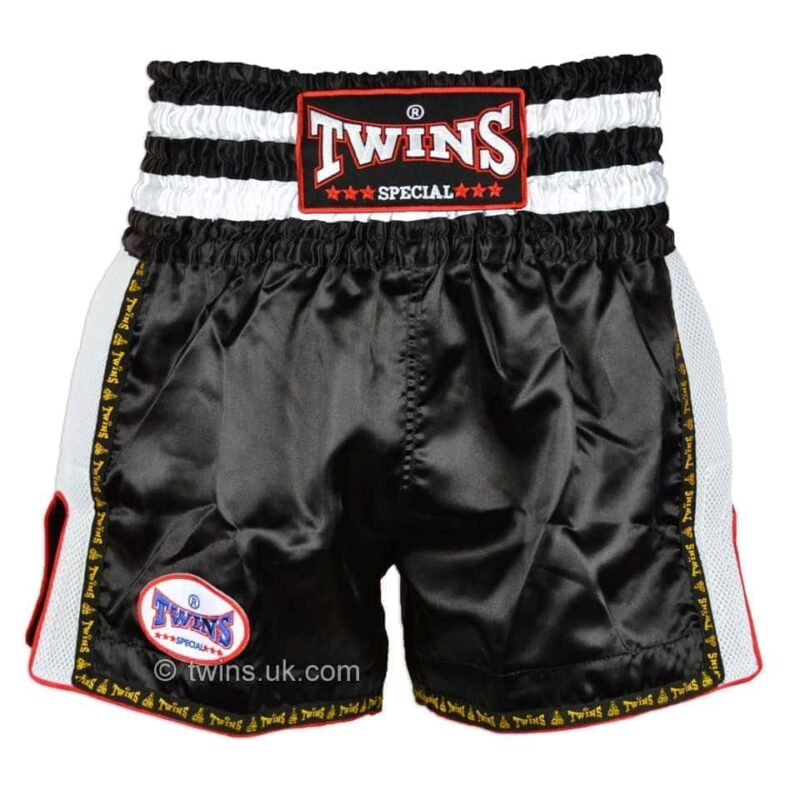 Twins white black retro shorts