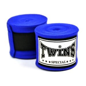 Twins 5m Blue Premium Stretch Hand Wraps