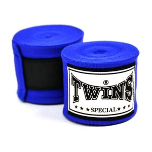 Twins 5m Blue Premium Stretch Hand Wraps