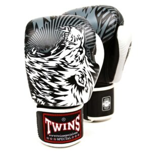 Twins White Wolf Boxing Gloves