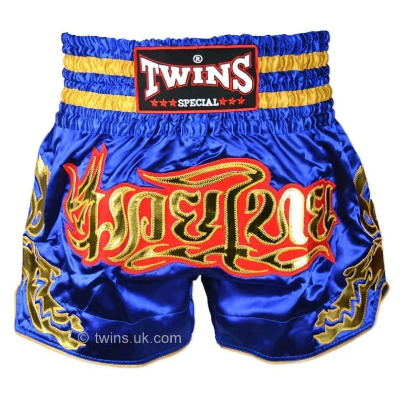 Twins blue gold shorts