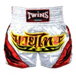 Twins red white shorts