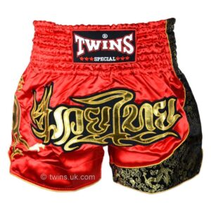 Twins red gold shorts