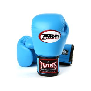 Twins light blue boxing gloves