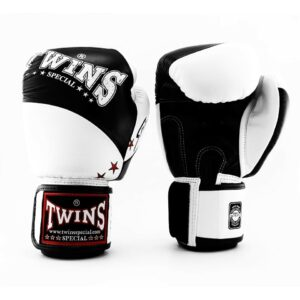 Twins Black & White Spirit Boxing Gloves