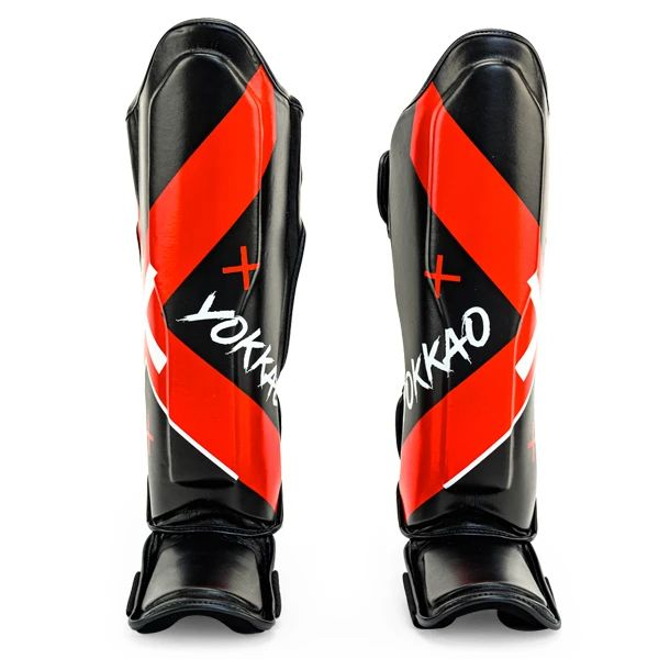 YOKKAO X Black Shin Guards