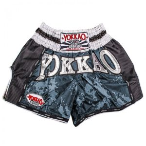 YOKKAO Carbon Grey Army Shorts