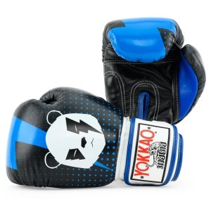 YOKKAO Black Panda Boxing Gloves