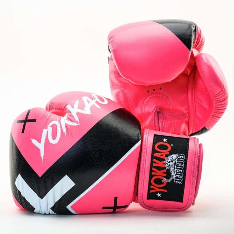YOKKAO X Pink Boxing Gloves