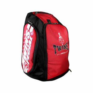 Twins red rucksack