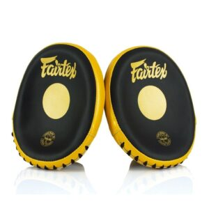 Fairtex black gold mitts