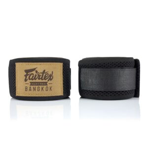 Fairtex black mesh hand wraps