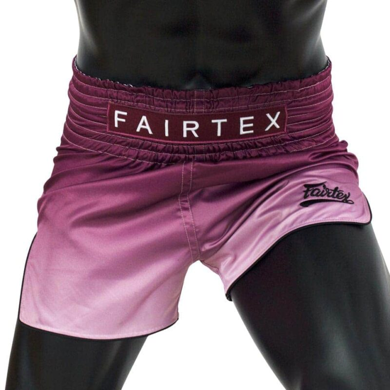 Fairtex maroon fade shorts