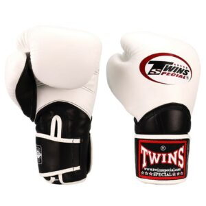 Twins White & Black BGVL11 Long-Cuff Boxing Gloves