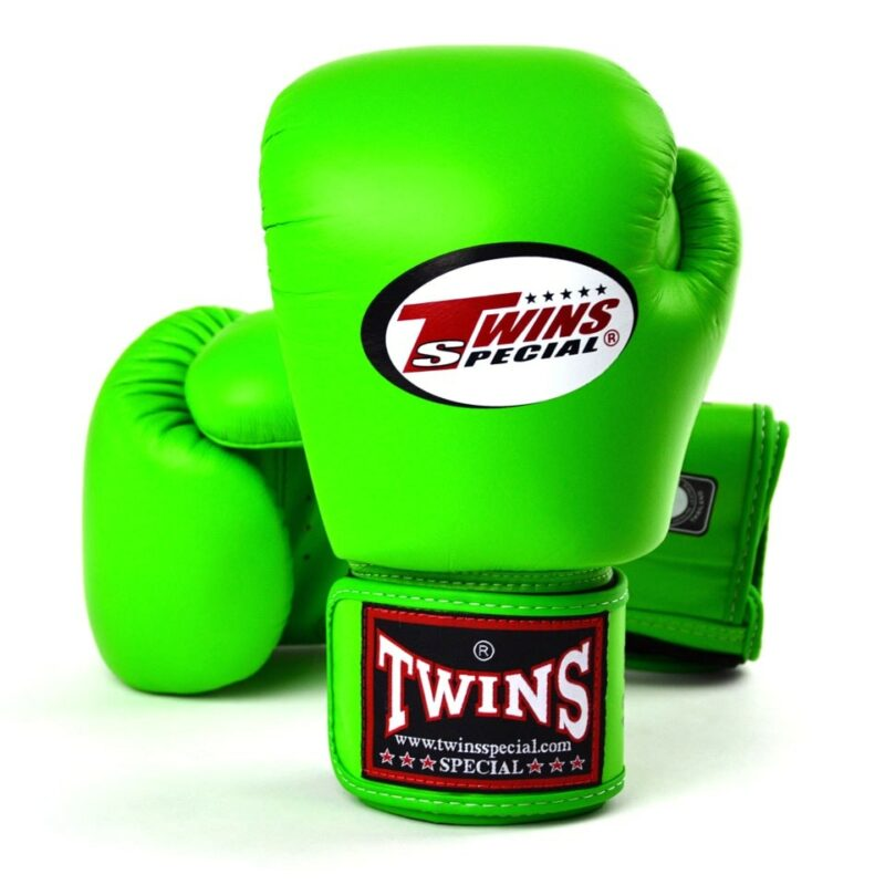 Twins BGVL3 Lime Green Boxing Gloves